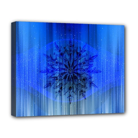 Background Christmas Star Deluxe Canvas 20  X 16