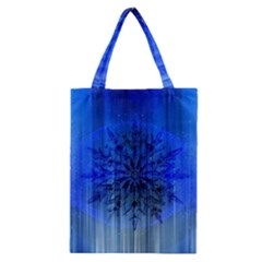Background Christmas Star Classic Tote Bag