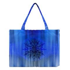 Background Christmas Star Medium Tote Bag by Nexatart