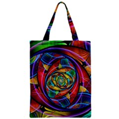 Eye Of The Rainbow Classic Tote Bag by WolfepawFractals