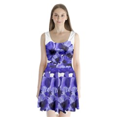 Poppy Blossom Bloom Summer Split Back Mini Dress