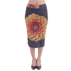 Art Beautiful Bloom Blossom Bright Midi Pencil Skirt by Nexatart