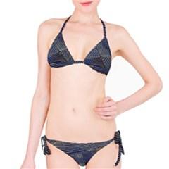 Textures Sea Blue Water Ocean Bikini Set