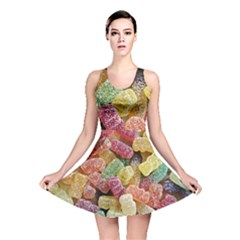 Jelly Beans Candy Sour Sweet Reversible Skater Dress