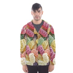 Jelly Beans Candy Sour Sweet Hooded Wind Breaker (men)