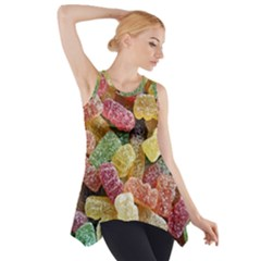 Jelly Beans Candy Sour Sweet Side Drop Tank Tunic