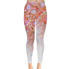 Effect Isolated Graphic Leggings  by Nexatart
