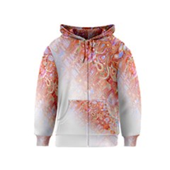Effect Isolated Graphic Kids  Zipper Hoodie