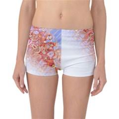 Effect Isolated Graphic Reversible Boyleg Bikini Bottoms