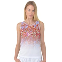 Effect Isolated Graphic Women s Basketball Tank Top