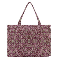 Mandala Art Paintings Collage Medium Zipper Tote Bag by pepitasart
