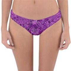 Melting Swirl B Reversible Hipster Bikini Bottoms by MoreColorsinLife