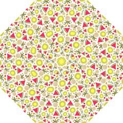 Summer Fruits Pattern Hook Handle Umbrellas (large) by TastefulDesigns