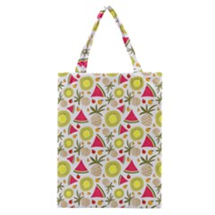 Summer Fruits Pattern Classic Tote Bag by TastefulDesigns