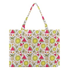 Summer Fruits Pattern Medium Tote Bag by TastefulDesigns