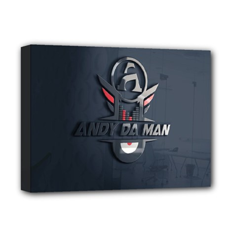 Andy Da Man 3d Dark Deluxe Canvas 16  X 12   by Acid909