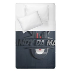Andy Da Man 3d Dark Duvet Cover Double Side (single Size) by Acid909