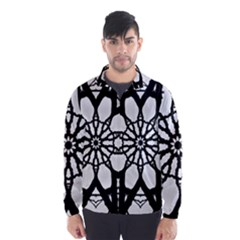 Pattern Abstract Fractal Wind Breaker (men)
