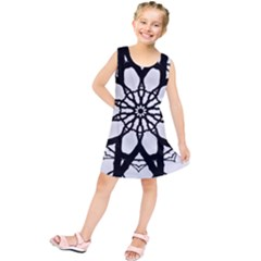 Pattern Abstract Fractal Kids  Tunic Dress