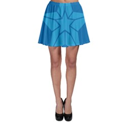 Star Design Pattern Texture Sign Skater Skirt