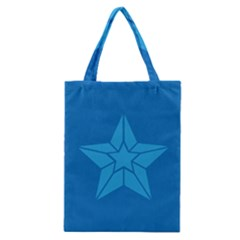 Star Design Pattern Texture Sign Classic Tote Bag by Nexatart