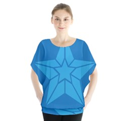 Star Design Pattern Texture Sign Blouse