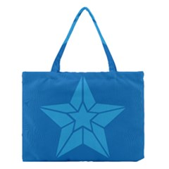 Star Design Pattern Texture Sign Medium Tote Bag by Nexatart
