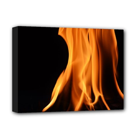 Fire Flame Pillar Of Fire Heat Deluxe Canvas 16  X 12   by Nexatart