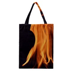 Fire Flame Pillar Of Fire Heat Classic Tote Bag