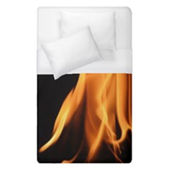Fire Flame Pillar Of Fire Heat Duvet Cover (single Size) by Nexatart