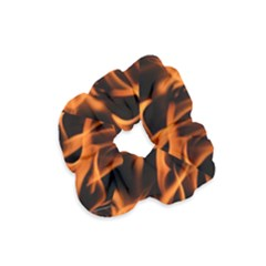 Fire Flame Heat Burn Hot Velvet Scrunchie