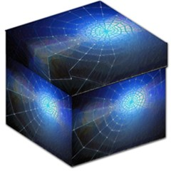 Network Cobweb Networking Bill Storage Stool 12