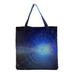 Network Cobweb Networking Bill Grocery Tote Bag