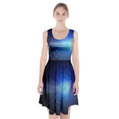 Network Cobweb Networking Bill Racerback Midi Dress