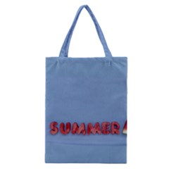 Summer Watermellon Classic Tote Bag by PhotoThisxyz
