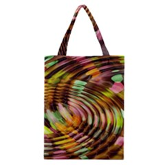 Wave Rings Circle Abstract Classic Tote Bag