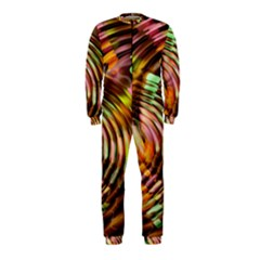 Wave Rings Circle Abstract Onepiece Jumpsuit (kids)