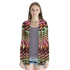 Wave Rings Circle Abstract Cardigans