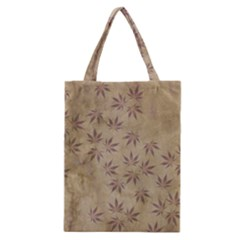 Parchment Paper Old Leaves Leaf Classic Tote Bag