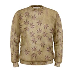 Parchment Paper Old Leaves Leaf Men s Sweatshirt