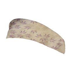 Parchment Paper Old Leaves Leaf Stretchable Headband