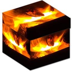 Fire Rays Mystical Burn Atmosphere Storage Stool 12