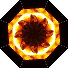 Fire Rays Mystical Burn Atmosphere Hook Handle Umbrellas (medium)