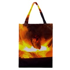 Fire Rays Mystical Burn Atmosphere Classic Tote Bag by Nexatart