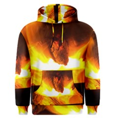 Fire Rays Mystical Burn Atmosphere Men s Pullover Hoodie