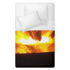 Fire Rays Mystical Burn Atmosphere Duvet Cover (single Size)