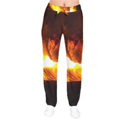 Fire Rays Mystical Burn Atmosphere Drawstring Pants