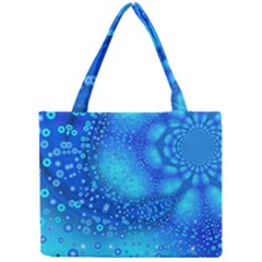 Bokeh Background Light Reflections Mini Tote Bag by Nexatart