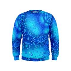 Bokeh Background Light Reflections Kids  Sweatshirt