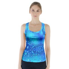 Bokeh Background Light Reflections Racer Back Sports Top